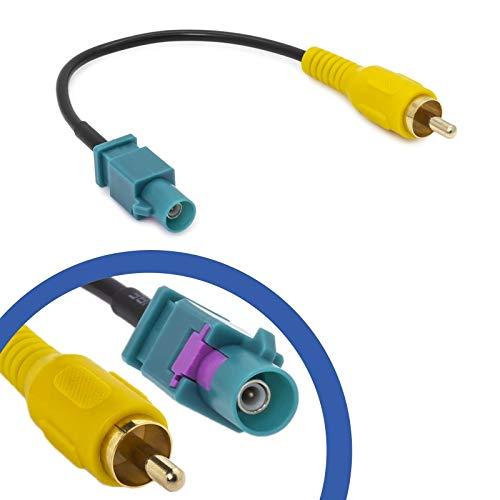 Cinch Fakra Adapter Kabel Kompatibel mit Mercedes Comand Ford Blaupunkt NX Video