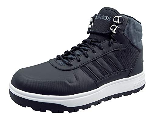 Adidas Frozetic Zapatillas Basketball Altas para Hombre FW6633 (Negro, Fraction_45_and_1_Third)