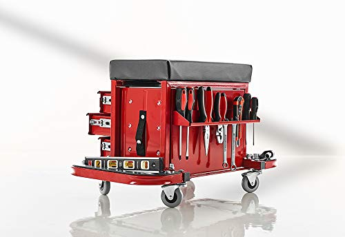 Sharper Image Rolling Toolbox And Stool