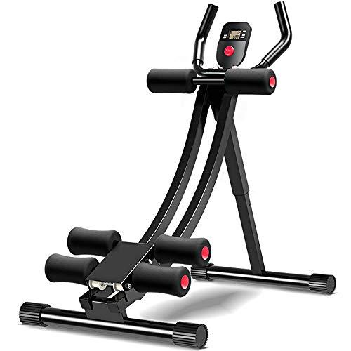 JXYNB Fitnessgeräte für Bauchmuskelgeräte, Faltbarer Sitzhocker, Verstellbarer Fitnesshocker, Silent Smooth Roller, Bauch- / Rückenstretchhocker, Heim-Fitnessstudio.