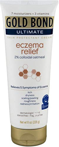 Gold Bond Ultimate Eczema Relief Skin Protectant Cream FragranceFree 8 Oz