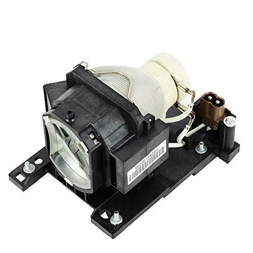 Molgoc DT01022 Bombilla de Repuesto con Carcasa Compatible con para proyector HITACHI CP-RX78 CP-RX78W CP-RX80 CP-RX80W,ED-X24