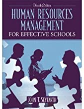 Human Resources Management for Effective Schools _ 4th edition.