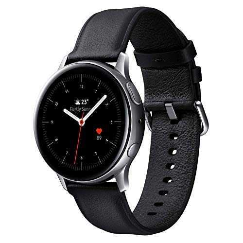 Galaxy Watch Active2 / Stainless steel/シルバー / 44mm [Galaxy純正スマートウォッチ 国内正規品] SM-R820NSSAXJP