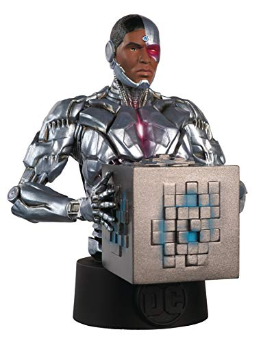 Busto Resina Batman Universe Collector's Nº 34 Cyborg