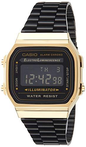 Casio Collection UnisexRetro Armbanduhr A168WEGB-1BEF