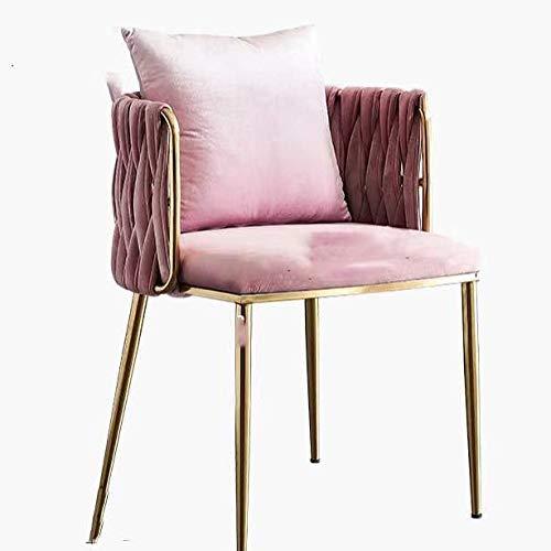 RTOFO Silla de sofá, sillas de sofá tapizadas en el hogar, Lujo Simple y Ligero, salón de sofaling Franela, Utilizado en Sala de Estar, Dormitorio, Hotel, al Aire Libre, Comedor