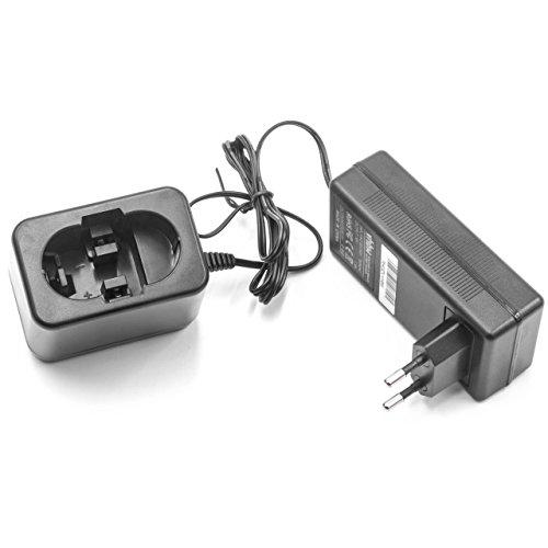 vhbw Caricabatterie per Attrezzo Bosch GDR50, GDS 14.4V, GDS 18 V, GDS 18 V-HT, GHO 14.4V, GHO 14.4VH, GHO 18 V, GKG 24V, GKS 18 V, GKS 24V, GLI 12
