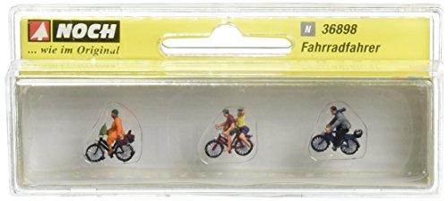 Noch 36898 - Ciclisti 4 Personaggi 3 Biciclette N