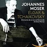 Elgar / Tschaikowsky: Werke für Cello und Klavier - Johannes Moser