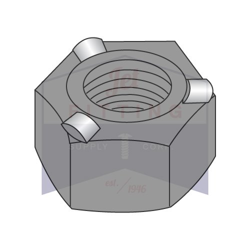 1/4-20 Hex Weld Nuts   3 Projections   with High, Self-Locating Pilot   Steel   Plain Finish   Nuts can be fed Automatically or manually (Quantity: 1000)