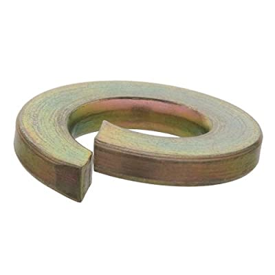 Crown Bolt 3/4 Inch Yellow Zinc-Plated Grade 8 Lock Washers