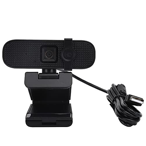 webcam kafuty Kafuty-1 Videocamera Web USB HD Webcam Videocamera per Computer USB con Messa a Fuoco Automatica 2K e Copertura del Microfono Alta Definizione per Skype/Teams/OBS