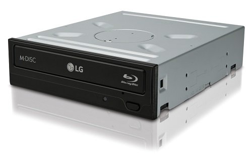 LG CH12NS40 Blu-Ray ROM 16x8x16xDVD+RW 12xDVD+7-DL 5xDVD-RAM 12xBD-ROM SATA Retail schwarz