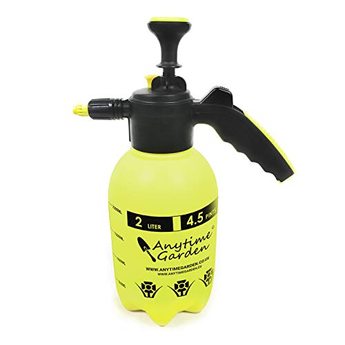 PUMP PRESSURE WATER SPRAYERS - Handheld Garden Sprayer for Water Chemicals and Pesticides (2L E)