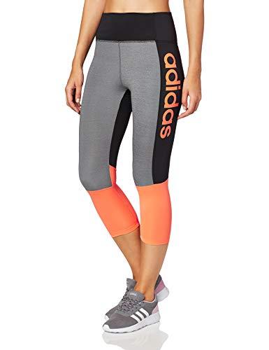 adidas D2m Lo HR 34 Ti – Leggings da Donna, Donna, Maglie, EI4869, Nero/Semcor, XS