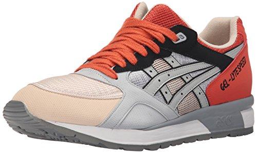 Zapatillas de Running ASICS Gel Lyte Speed Retro, Amarillo (Amarillo/Negro (Safety Yellow/Black)), 11.5 M US