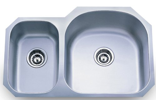 Dowell Undermount Double Bowl 16 Gauge...