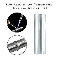 溶接棒 2mm 1.6mm金属アルミニウムマグネシウム銀電極溶接棒フラックスコアワイヤーブラジングスティックはんだ付けツールドロップの配送セール (Diameter : 2mm, Material : 10pcs)