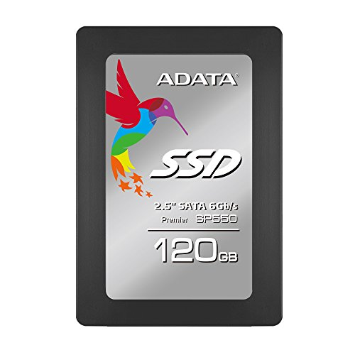ADATA Premier SP550 120GB 2.5 Inch SATA III Solid State Drive (ASP550SS3-120GM-C) (Best Budget Laptops Under 500 Uk)
