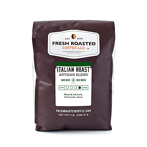 Fresh Roasted Coffee, Italian Roast, Dark,...