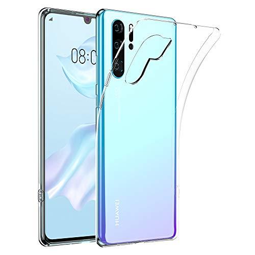 opamoo Hülle für Huawei P30 Pro, Handyhülle für Huawei P30 Pro Schutzhülle Crystal Ultra Dünn TPU Bumper Case Anti-Scratch Stoßfest Soft Silikon Hülle für Huawei P30 Pro Case Cover-Transparent