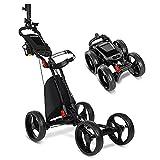 Best Golf Push Carts - JANUS Golf Push Cart,Golf cart,Golf Pull cart Review