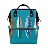 LDIYEU Patín De Mar Azul Bolsa Compra Reutilizables Bolsas de Mano para Trabajo Escuela Comestibles Plegables de Playa para Mujeres Niñas