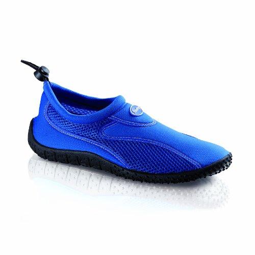 Fashy Damen Cubagua Aqua-Schuh Dusch- & Badeschuhe, Blau (blau-schwarz 53), 39 EU