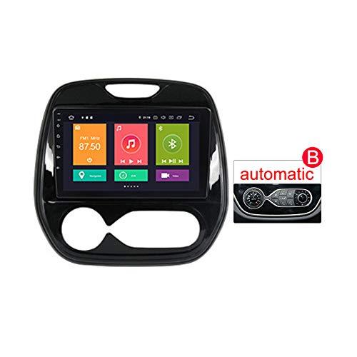 LHWSN para Renault Kaptur 2016-2019 Coche Radio Sistema Estéreo NAVI 9'Touch GPS Navigator MP5 Multimedia Player Radio Video Receptor Soporte DSP Carplay Mirror Link Screen Espejo,B,px6