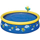 Qazxsw Piscina Inflable/para Adultos para niños y niños espesaron Piscina/Familia niños Adulto al Aire Libre Pool Pool