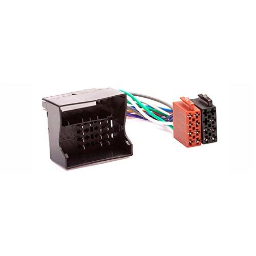CARAV 12-004 Adaptateur radio ISO pour, connecteur Mini Câblage fil plomb Loom Câble adaptateur prise stéréo