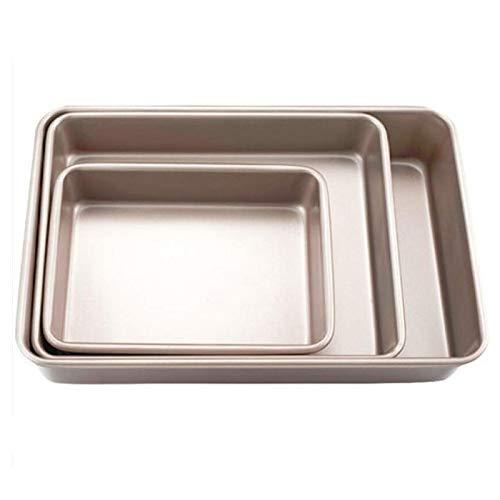 Bandeja para hornear rectangular bandeja para hornear antiadherente de metal para hornear pan Baguette molde para horno