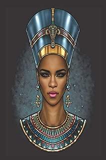Black Girl Magic Lined Journal: Black Girl Magic Nefertiti Egyptian Queen Gift | Self Care|Gratitude|6x9
