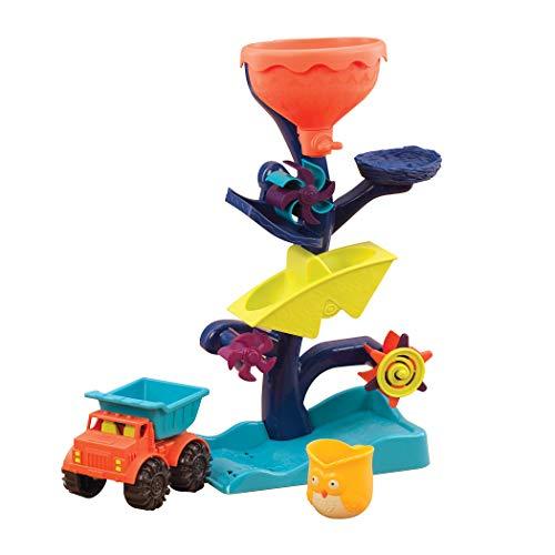 B. toys Badespielzeug Baby Wassermühle mit Kipper LKW, Becher und...