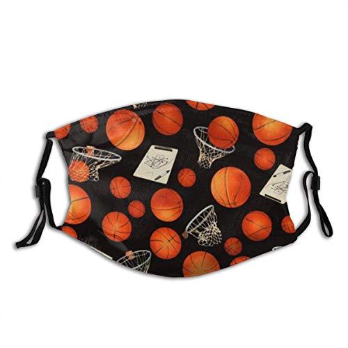 NA Basketball und Hoops Safety Gesichtsschutz Mundschutz Wiederverwendbare atmungsaktive Gesichtsbedeckung
