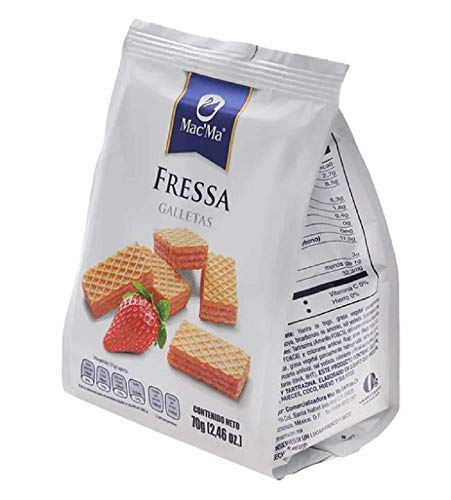 Macma Mexican Waffer fressa Cookies galletas with fressa Flavored Filling