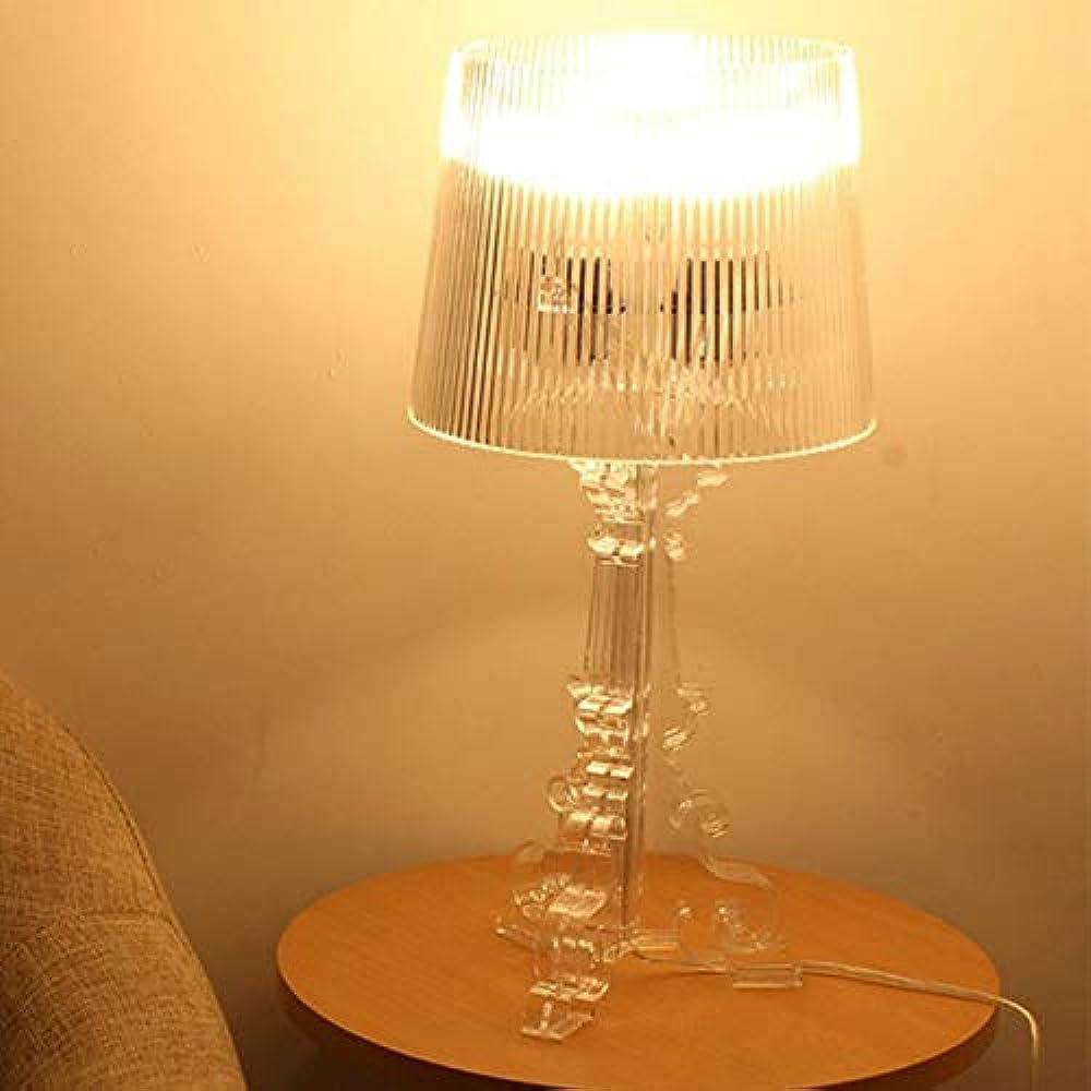 Kartell bourgie,lampada da scrivania,da tavolo,a led in acrilico moderno Bleyoum6907368075548