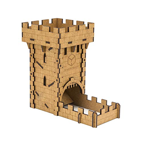 Q Workshop Medieval Dice Tower for Dice Rolling