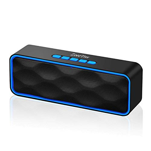 ZoeeTree S1 Bluetooth Speaker, Bluetooth 5.0 Portable Speaker with Stereo...