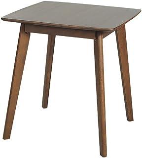ZR- Table de Salle à Manger 100% Pure en Bois Massif Table carrée Table de Salle à Manger Nordique 70 * 70 * 75CM Meubles...