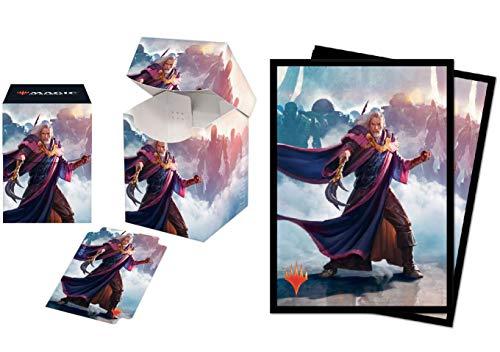 Bundle: Magic: The Gathering - Modern Horizons Urza, Lord High Artificer - V3 (100+ Deck Box & 100 Protector Sleeves)