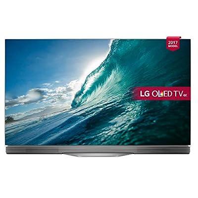 LG OLED65E7V 65-Inch 4K HDR Smart TV - Black