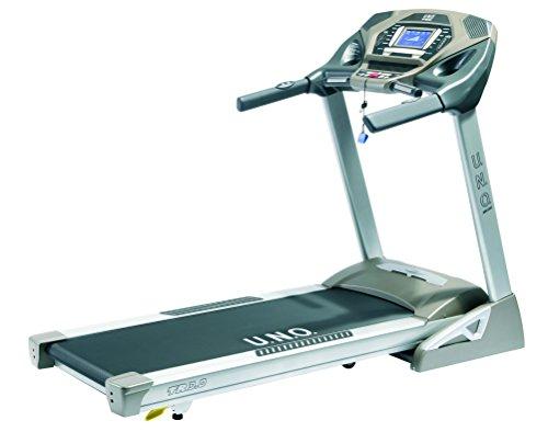 U.N.O. Fitness Erwachsene TR 3.0 Laufband, Silbergrau, S