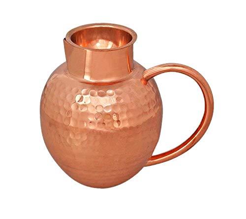 Corps Crafts faite à la main Nouveau Design en cuivre Cruche à eau de 1 814,4 gram Environ