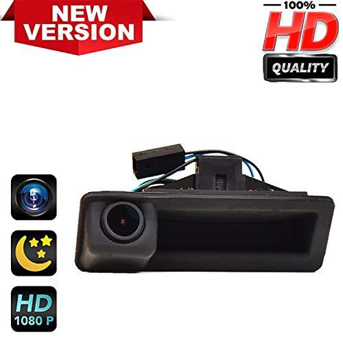 170° HD Kamera 1280x720p Wasserdicht Nachtsicht Einparkhilfe Hilfslinien Heckklappe Rückfahrkamera Distanzlinien Umschaltbar für BMW 1er E82 E84 E88 3er E90 E91 E92 E93 X1 E84 X5 E70 X6 E71