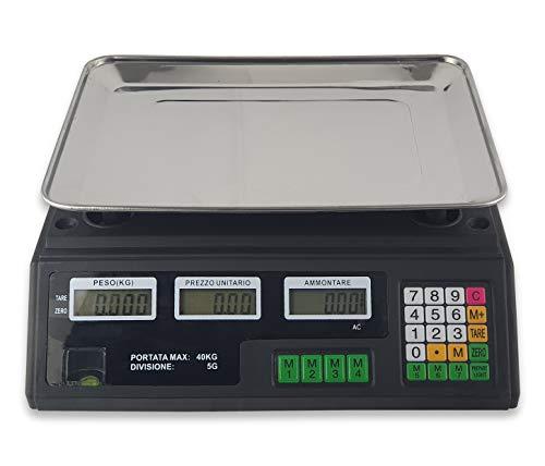Báscula Max 40kg grammi Chili Digital Electrónica Profesional