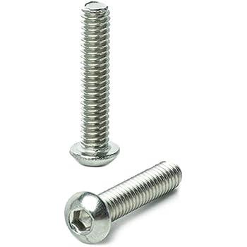 Hex Socket Drive 18-8 AISI 304 Stainless Steel 50 pcs Shoulder Screws 1//4-20 X 1//2