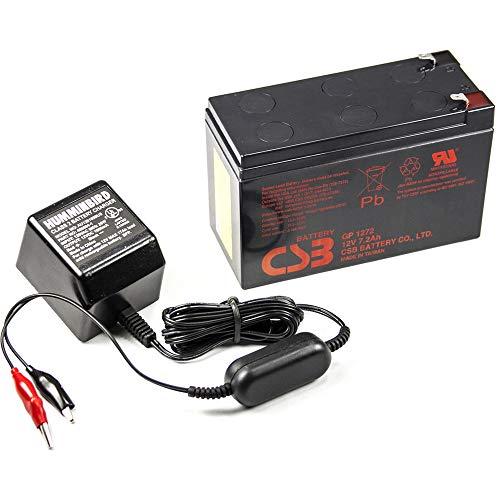 Humminbird 7700281 GCBK CSB GP1272 Portable AGM Battery and Charger-Color may vary