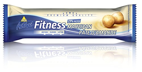 Active Fitness Riegel, Marzipan, 24 x 35g